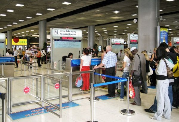 Aankomst Bangkok Airport BKK